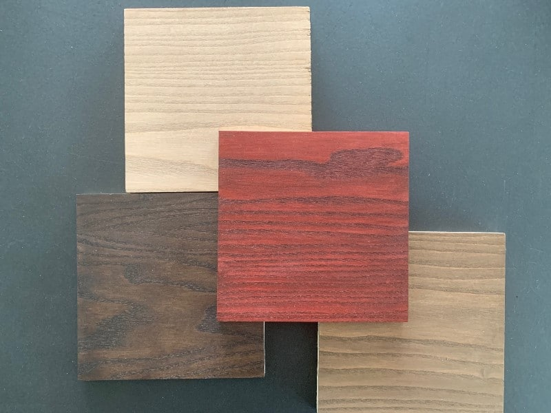 WB Color Stain para barnizar la madera